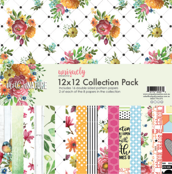 UNIQUELY CREATIVE - MOTHER NATURE COLLECTION PAPER PACK