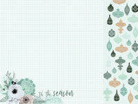 Kaisercraft - 12 x 12 - Mint Wishes - Flannelette