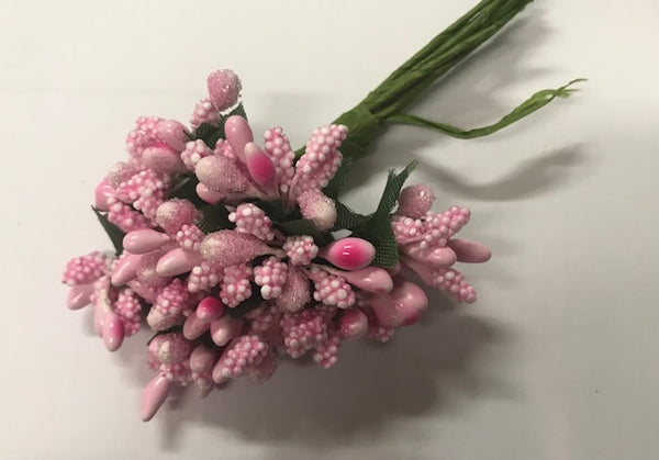 CRAFTY CONCEPTS - PINK BEAD FLOWER
