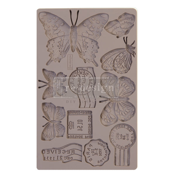 PRIMA -DECOR MOULDS - BUTTERFLY IN FLIGHT