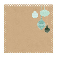 Kaisercraft - 12 x 12 - Mint Wishes - Gingerbread Cookie