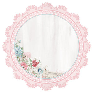 Kaisercraft - 12 x 12 Paper - Rose Avenue - Lace Frame