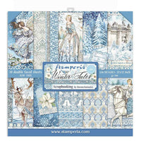 STAMPERIA - 12 x 12 PAPER PACK - WINTER TALES