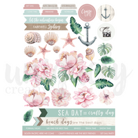 Uniquely Creative - Sea Blue - a - Part Sheet