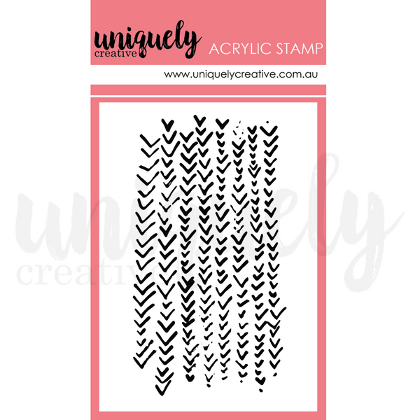 UNIQUELY CREATIVE - TRACKS MARK MAKING MINI STAMP