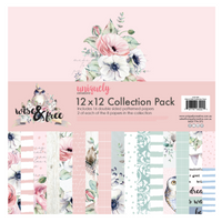 UNIQUELY CREATIVE - WISE & FREE COLLECTION PAPER PACK