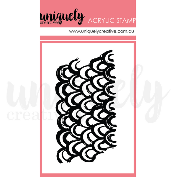 UNIQUELY CREATIVE - MERMAID MARK MAKING STAMP