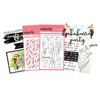 UNIQUELY CREATIVE - KOOKABURRA PARTY - STAMP & COLOUR MINI