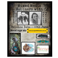 Mixed Media Madness with Antonis Tzanidakis & Farrel Tailor (28th June)