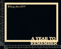 Dusty Attic - Chipboard - A year to remember
