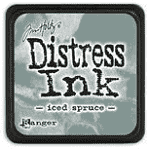 RANGER - MINI - DISTRESS INK - ICED SPRUCE