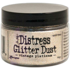 Ranger - Distress Glitter Dust - Vintage Platinum