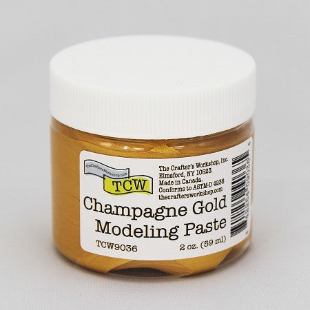 TCW - Champagne Gold Modeling Paste
