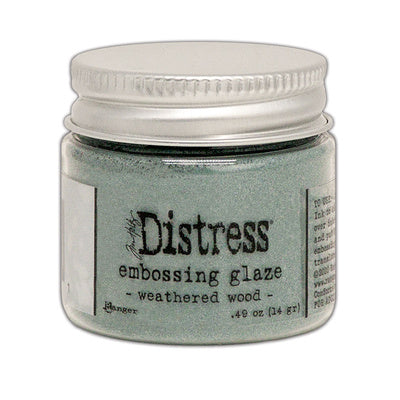 RANGER - DISTRESS EMBOSSING GLAZE - WEATHERED WOOD