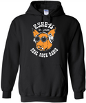 KSHE Black Classic Hooded Sweatshirt