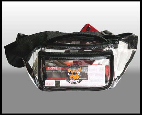 KSHE Clear Fanny Pack
