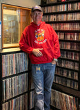 Last Call - KSHE Red Classic Hooded Sweatshirt - Limited Sizes