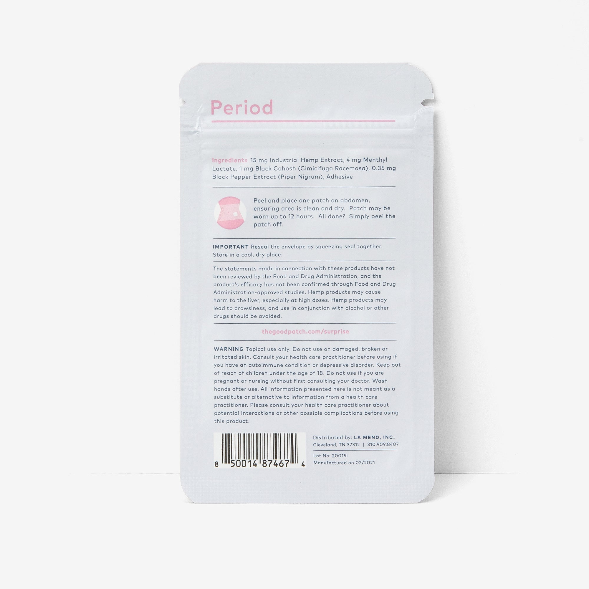 Period (NEW) - The Good Patch