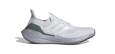 adidas Ultraboost 21 | Crystal White - Hazy Green FY0383