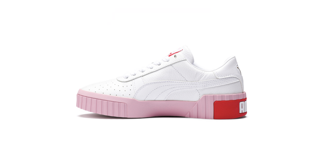 Puma Wmns Cali 'White - Pale Pink' | Foot Placard