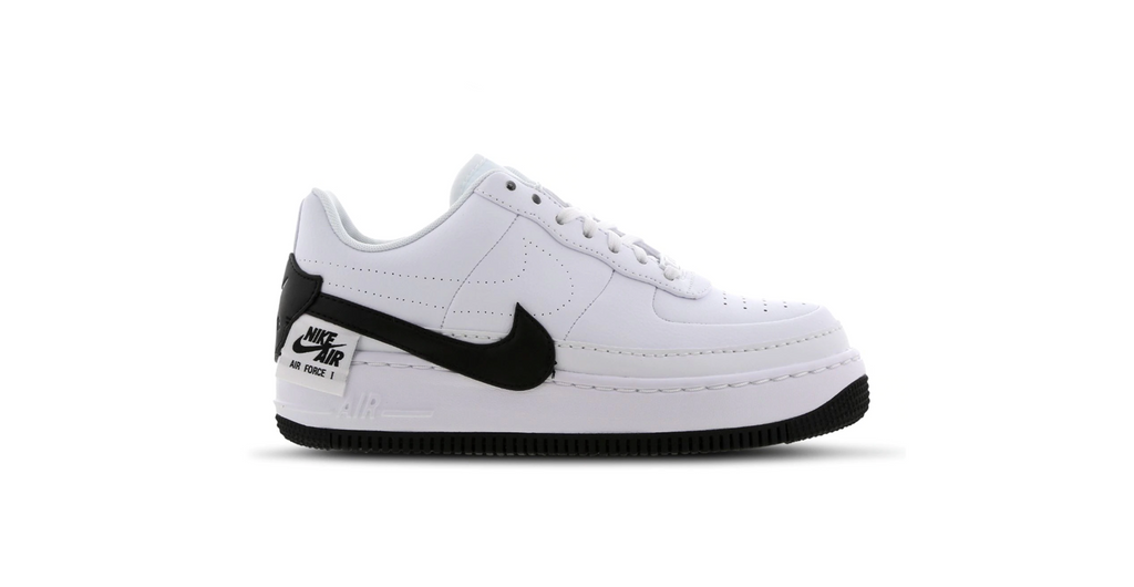 Nike Wmns Air Force 1 Jester XX 'White - Black' | Foot Placard