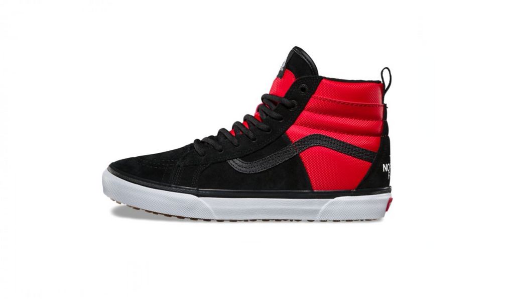 Vans Sk8-Hi 46 MTE x The North Face Black-Red