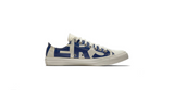 Converse Chuck Taylor All Star Wordmark Low 'Natural - Blue' | Foot Placard