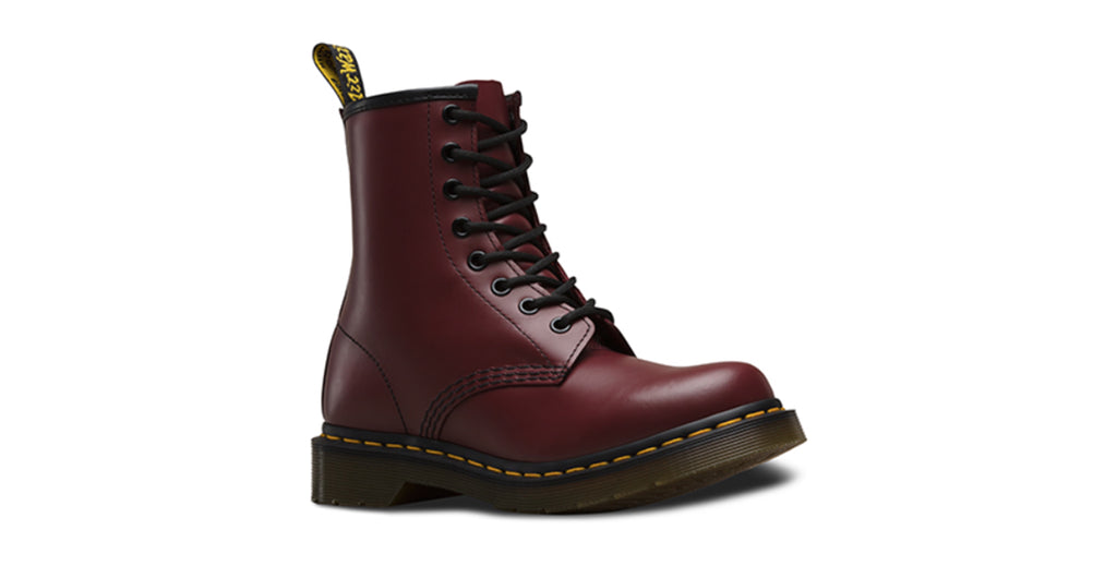 Dr. Martens Women's 1460 Smooth 'Cherry' | Foot Placard