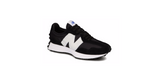 New Balance 327 'Black - White' | Foot Placard