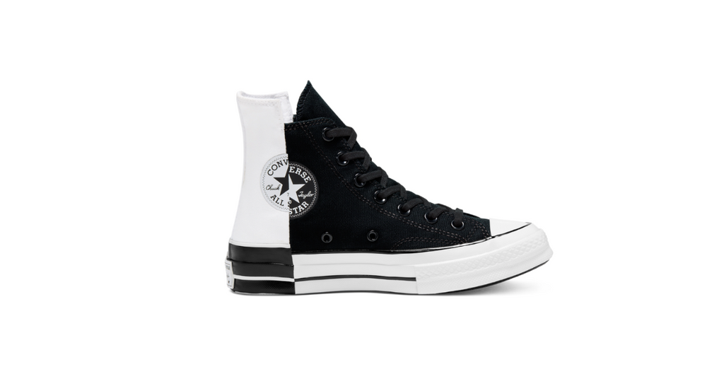 Converse Chuck 70 High Rivals 'Black - White' | Foot Placard