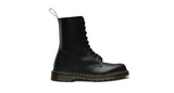 Dr. Martens 1490 Smooth Leather High 10-Eye Boot | Black