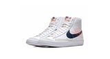 Nike Blazer '77 MID 'White - Midnight Navy' | Foot Placard