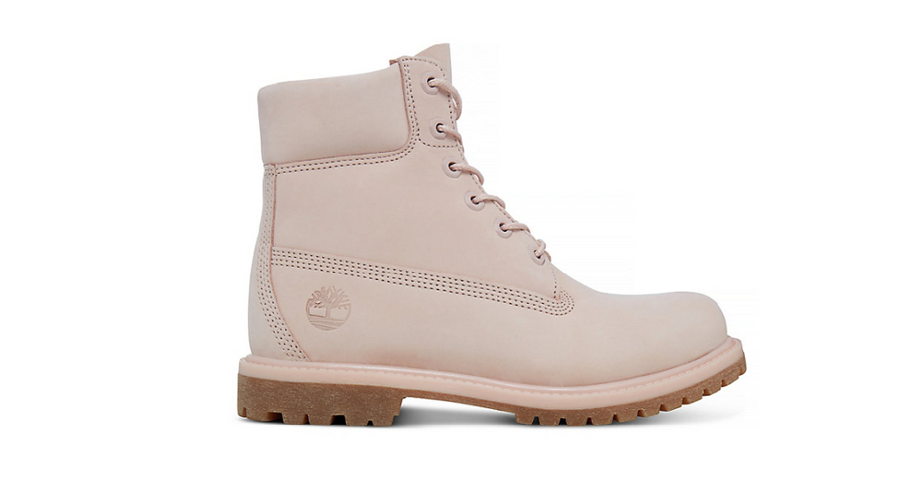 Timberland Premium 6-Inch Boot Women in Pale Pink