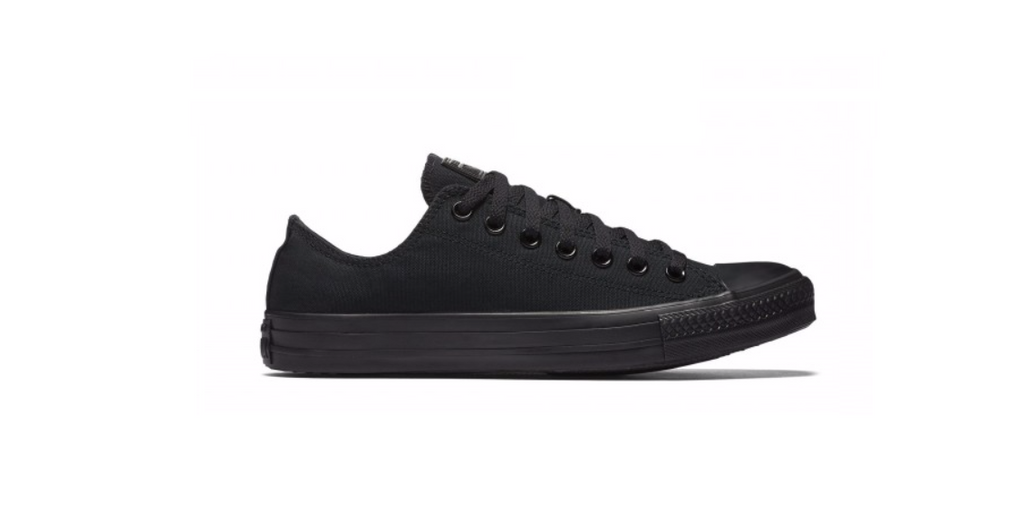 Converse Chuck Taylor All Star Low Monochrome Black | Foot Placard