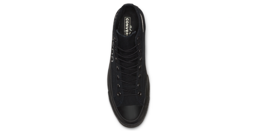Converse Chuck 70 GORE-TEX® High Black | Foot Placard
