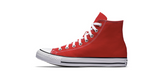 Converse Chuck Taylor All Star High Red | Foot Placard