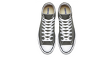 Converse Chuck Taylor All Star High Dark Grey | Foot Placard