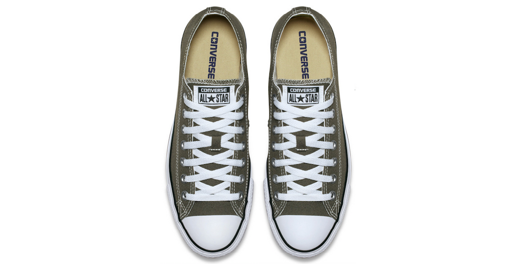Converse Chuck Taylor All Star Low Dark Grey | Foot Placard