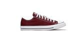 Converse Chuck Taylor All Star Low Maroon | Foot Placard
