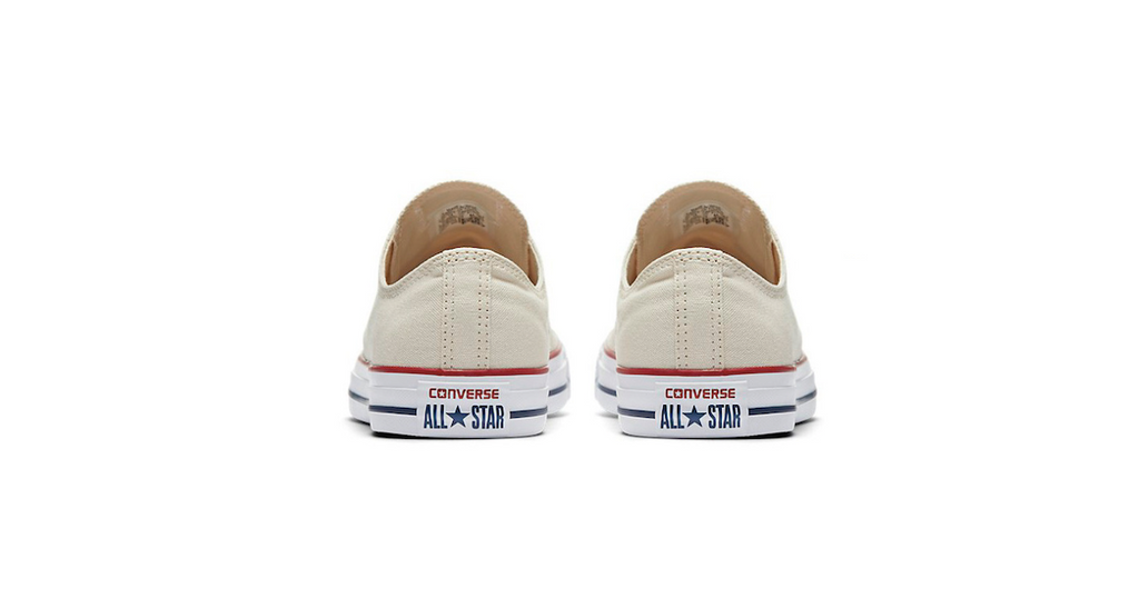 Converse Chuck Taylor All Star Low Natural Ivory | Foot Placard