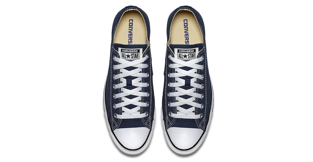 Converse Chuck Taylor All Star Low Navy | Foot Placard