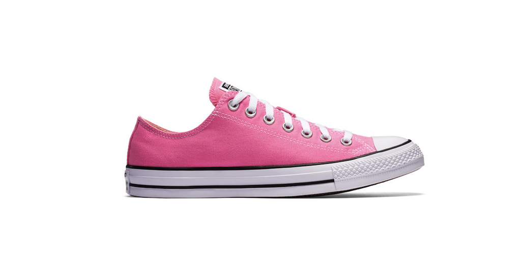 Converse Chuck Taylor All Star Low Pink | Foot Placard