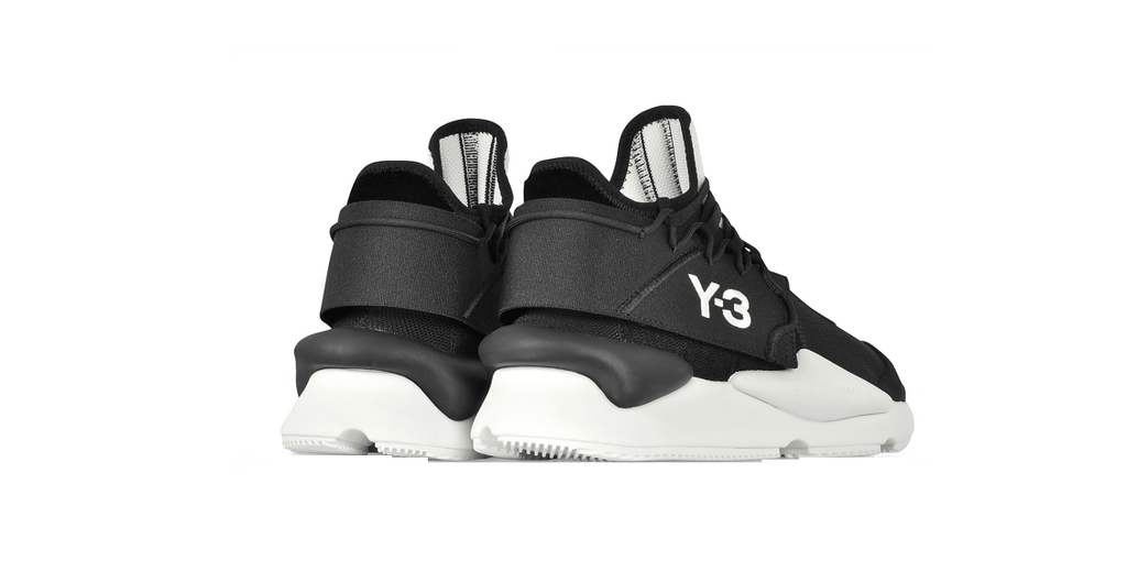 Y-3 Kaiwa Knit 'Black Nylon - White' | Foot Placard