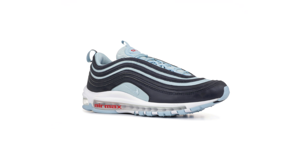 Nike Air Max 97 Premium 'Dark Obsidian - Ocean Bliss' | Foot Placard