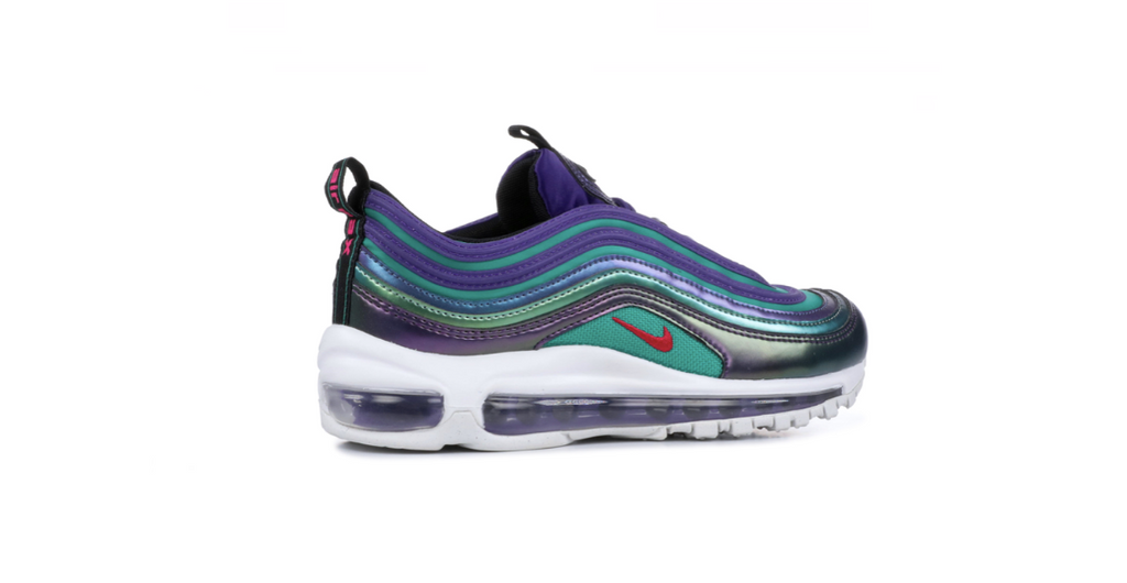 Nike Air Max 97 SE GS 'Court Purple - Rush Pink' | Foot Placard