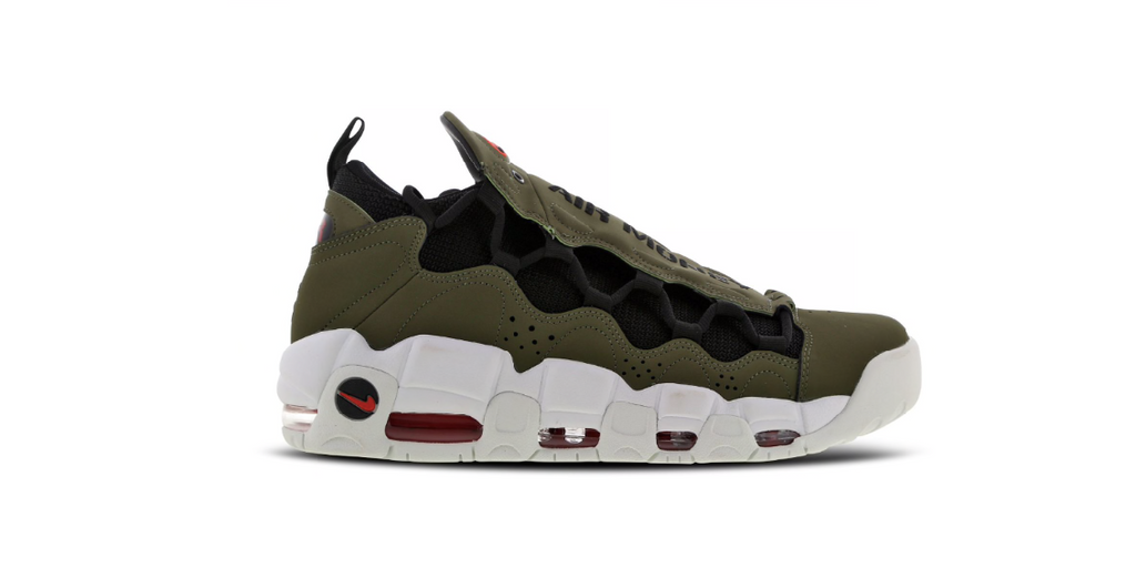 Nike Air More Money 'Olive - Black' | Foot Placard