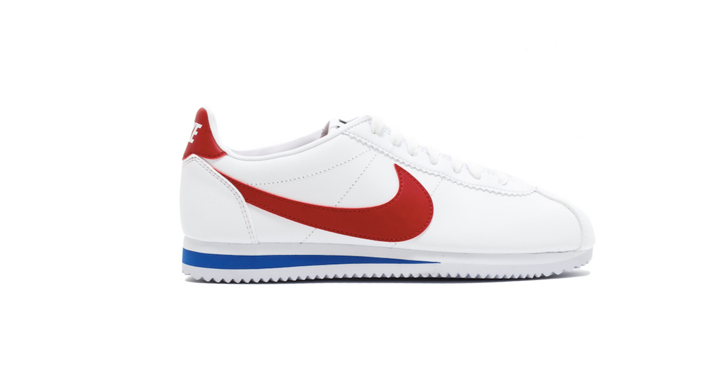 Nike Wmns Classic Cortez Leather 'White - Red' | Foot Placard