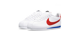 Nike Wmns Classic Cortez Leather | White - Red