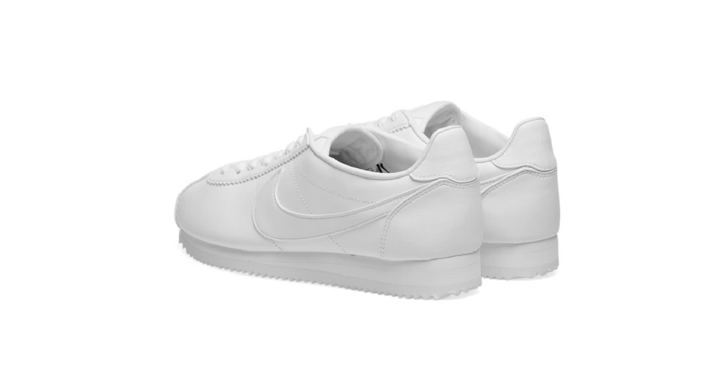 Nike Wmns Classic Cortez Leather 'White' | Foot Placard