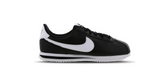 Nike Wmns Classic Cortez Leather 'Black - White' | Foot Placard